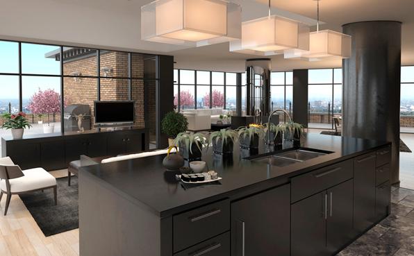 sch ner wohnen kleine k chen k chenprogramme systeme f r. Black Bedroom Furniture Sets. Home Design Ideas